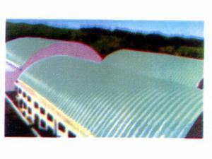 聚苯乙烯夹芯板棚式采光